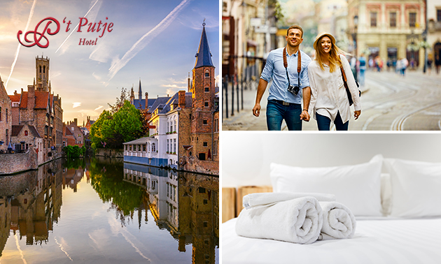 Overnachting voor 2 in hartje Brugge