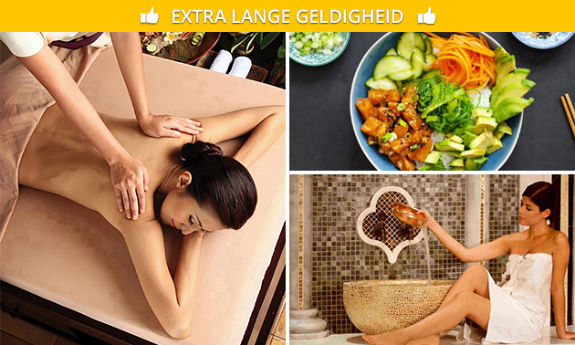 Entree voor House of Wellness evt. inclusief massage