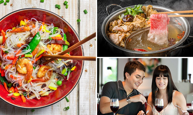 All-You-Can-Eat Chinese fondue + noodles in hartje Den Haag