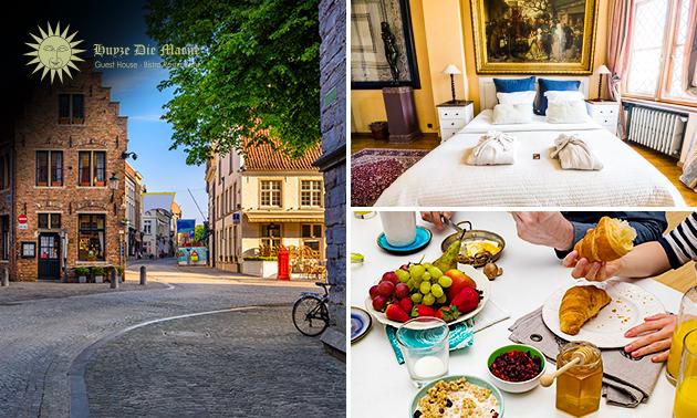 Nuit + petit-déjeuner pour 2 au coeur de Bruges