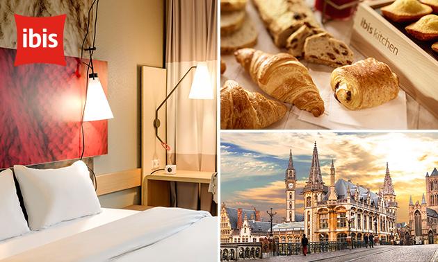 Overnachting(en) voor 2 + evt. ontbijt in hartje Gent