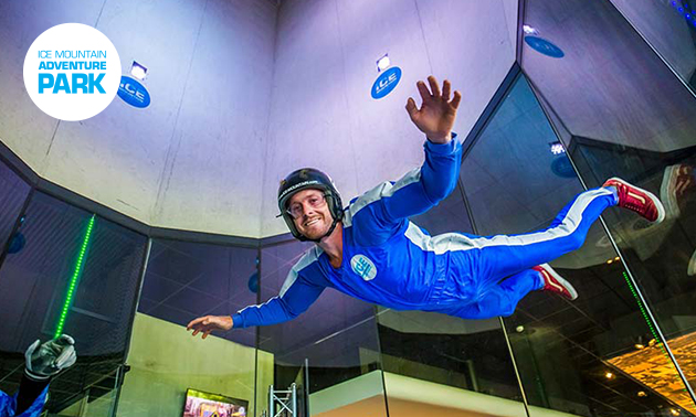 2 of 3 sessies indoor skydiving
