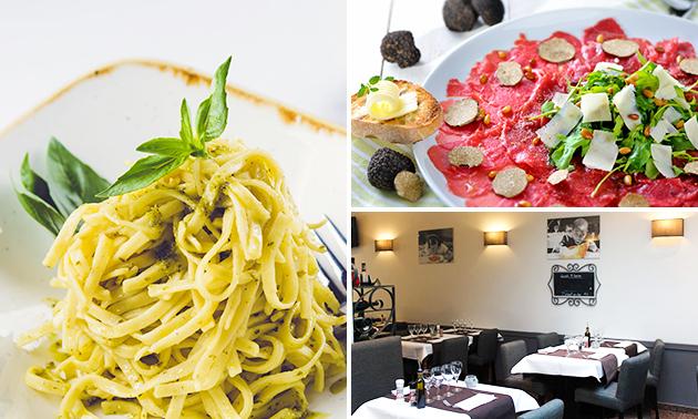 Menu italien 4 services au choix