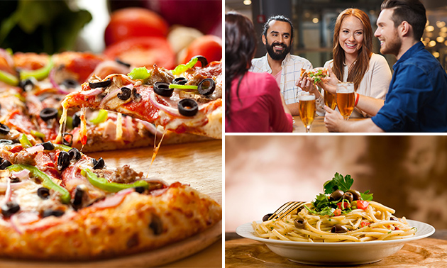 Menu italien en 3 services au choix