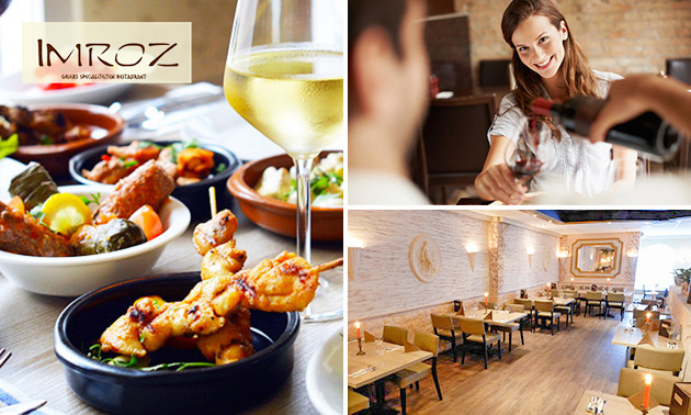 All-You-Can-Eat Griekse tapas + ouzo bij Imroz