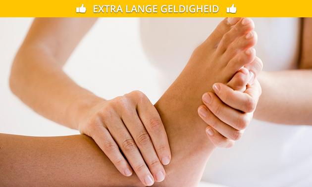 Voetreflexmassage(s) (60 min)