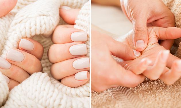 Manicurebehandeling (60 min) + gellak