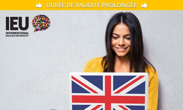 Cours d'anglais en ligne (A1 - B2+)