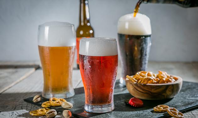 Thuisbezorgd of afhalen: Italiaans bierpakket naar keuze