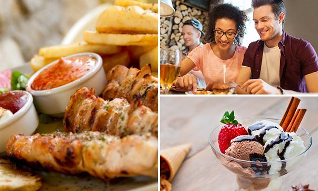 Italiaans 2-gangen keuzelunch of -diner bij Itality