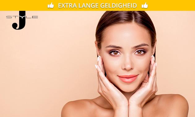 Wimperlift óf gezichtsbehandeling (60 min)