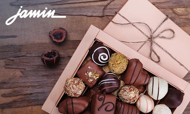 Afhalen: 500 gram bonbons van Jamin in hartje Helmond