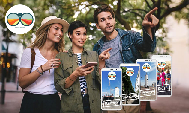 Citygame in Noordwijk/Katwijk (2-3 uur) voor 1 tot 5 personen