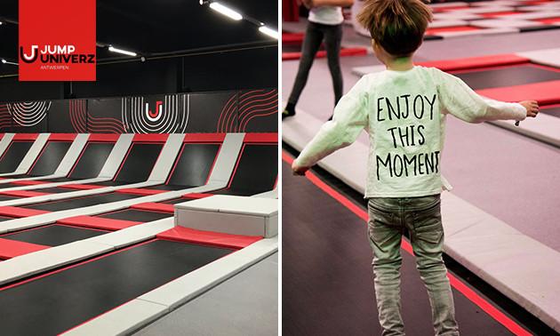 Entree indoor trampolinepark (1 uur)