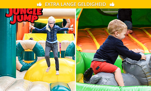 Entree voor Jungle Jump Days