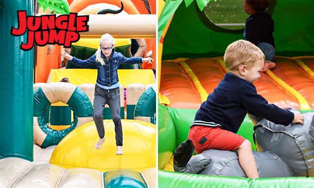 Entree voor Jungle Jump Days in Aarschot