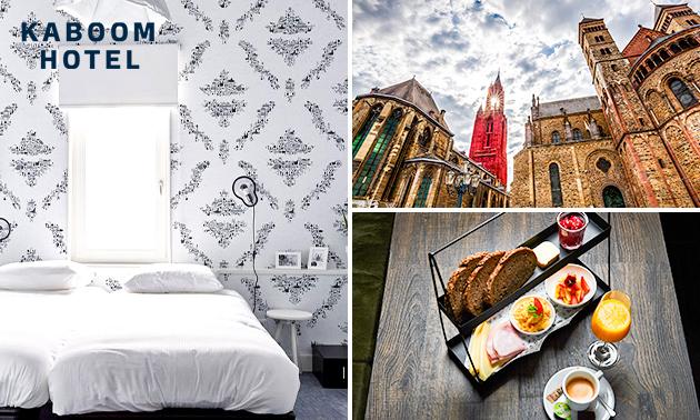 Overnachting voor 2 of 4 + wellness in hartje Maastricht