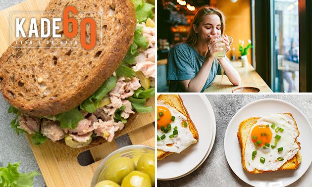Lunchplank bij Kade 60