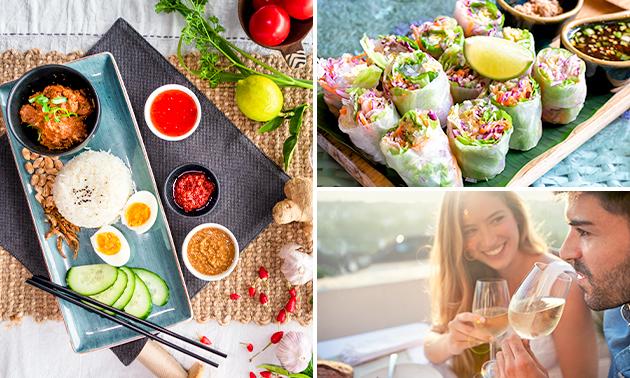 Aziatische shared diner bij Kamay Kamayan