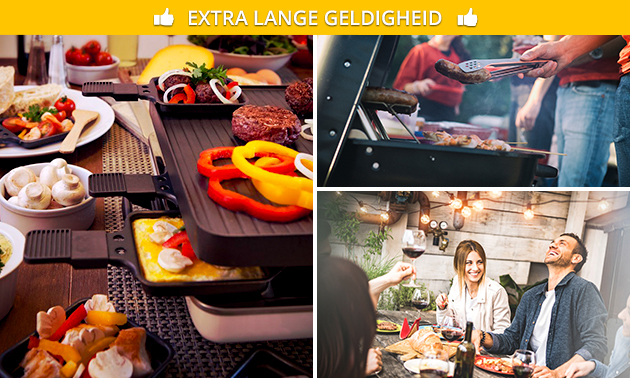 Thuisbezorgd of afhalen: gourmet-, fondue- of barbecueschotel