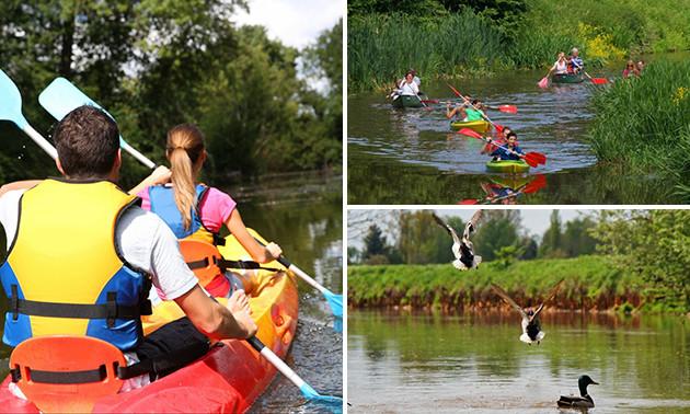 Huur kayak of kano
