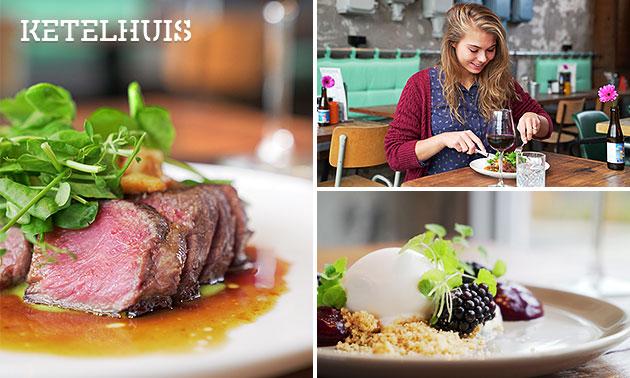 3 rondes shared dining bij Ketelhuis Lent