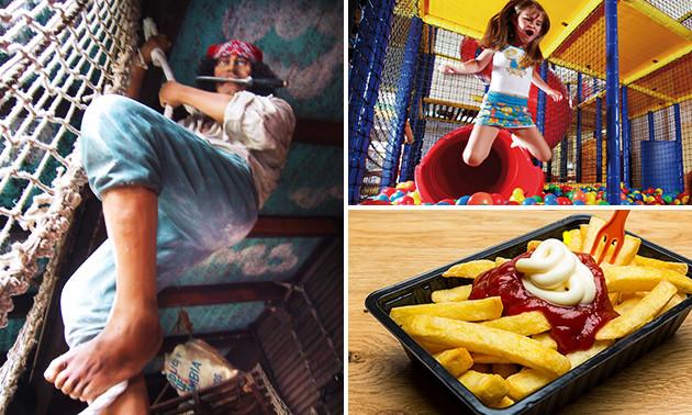 Entree voor Kids City + snackpakket