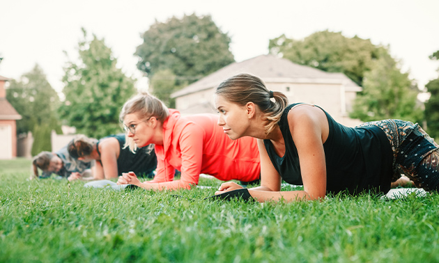 Bootcamp of personal training