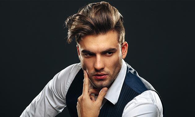 Complete kappersbehandeling voor heren