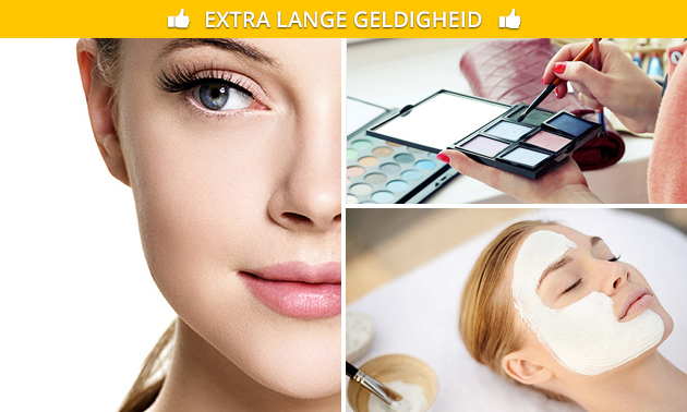 Gelaatsbehandeling (60 min) of wimperextensions one by one