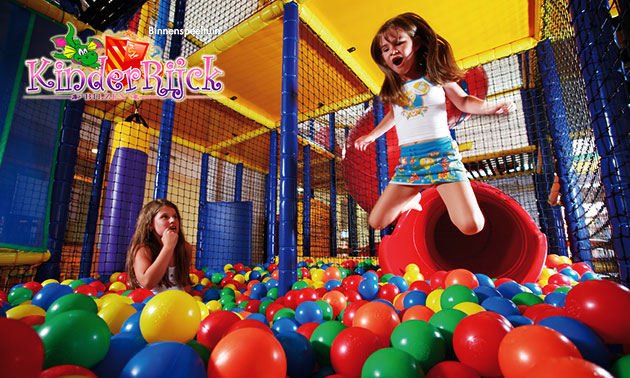 Entree voor indoor speelparadijs KinderRijck