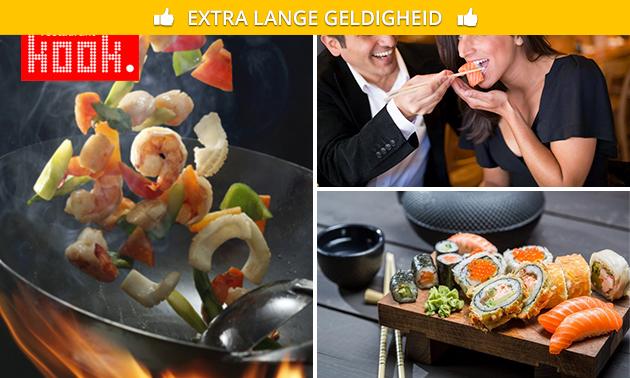 All-You-Can-Eat & Drink (3 uur) bij Kook. Roosendaal