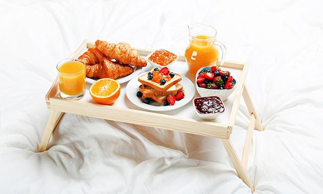 Ontbijt voor 2, gratis thuisbezorgd