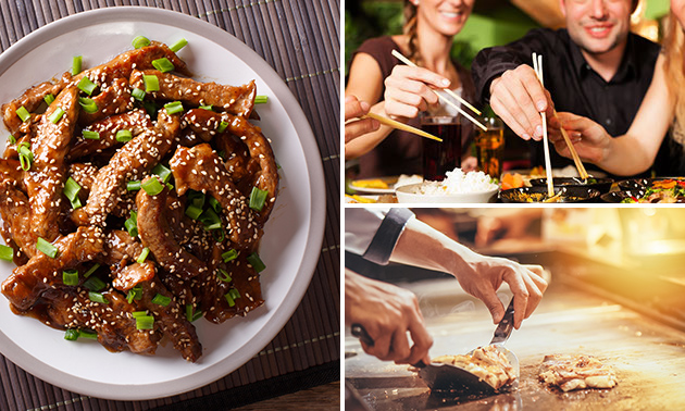 All-You-Can-Eat Chinese tapas (2,5 uur) bij Kota Radja