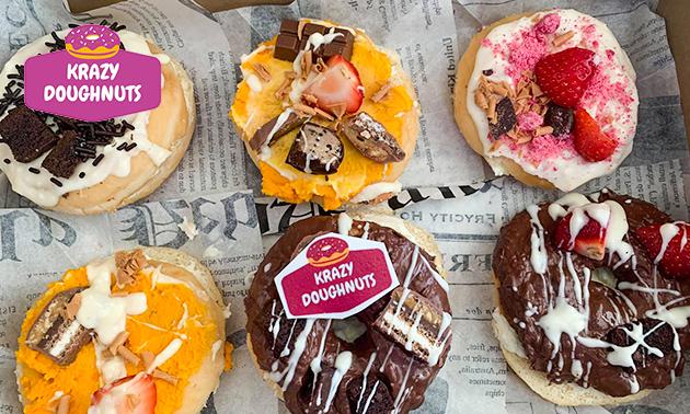 Afhalen: donuts naar keuze (4, 6 of 12 stuks)