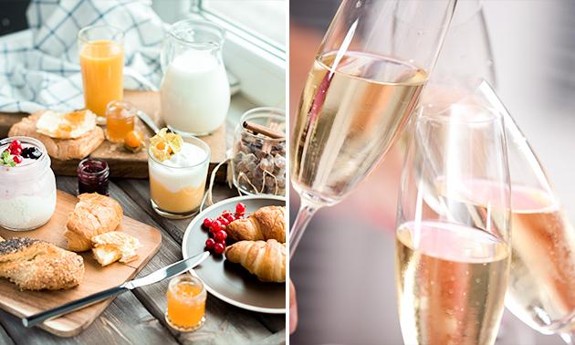 Luxe ontbijt met cava bij Kroktailbar Fabiola