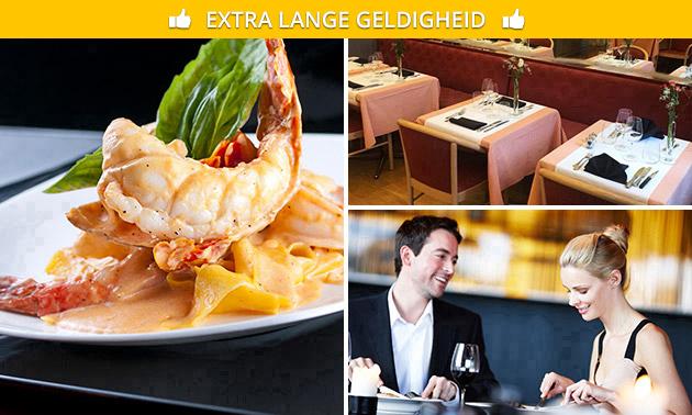 Menu italien 3 ou 4 services au choix + amuse-bouche