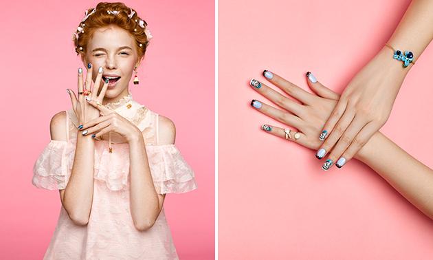 DIY-gellak + evt. printed nailart