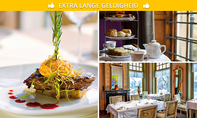 High tea of 3-gangenlunch bij Landgoed Westerlee