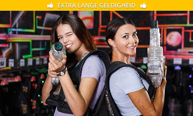 Huur laserguns (4 t/m 20 personen)
