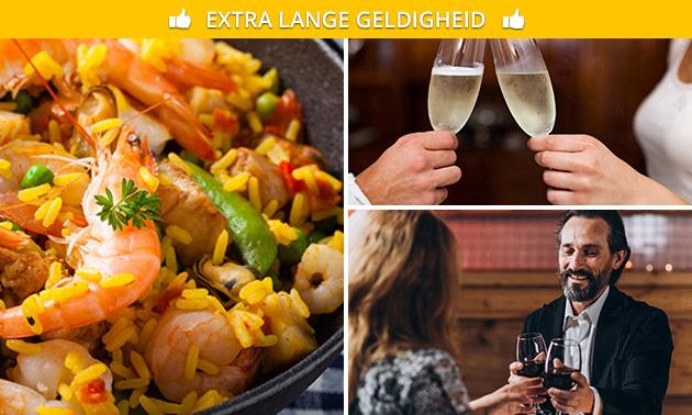 Afhalen: paella + wijn bij Le Goût Soirée