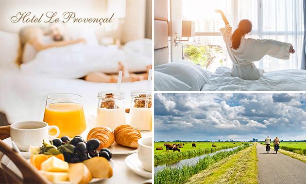 Overnachting voor 2 + ontbijt in Zeeland