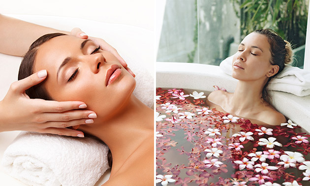 Massage (60 min) + evt. bad naar keuze