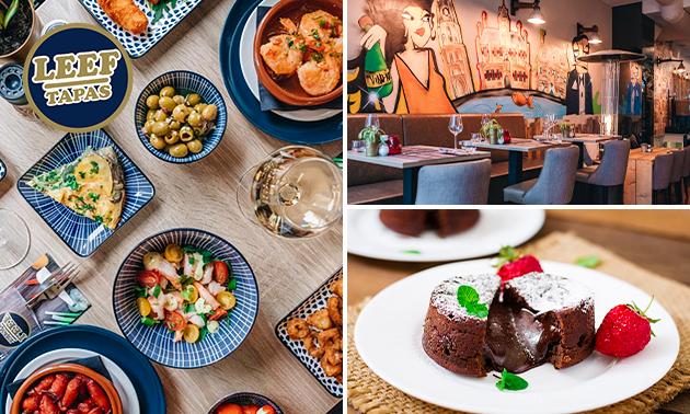 All-You-Can-Eat tapas + dessert bij LEEF Tapas