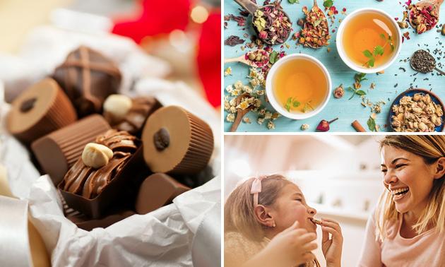 Waardebon voor chocolade, koffiebonen, thee en meer