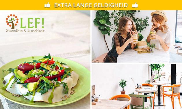 Lunchgerecht + drankje naar keuze in hartje Veenendaal