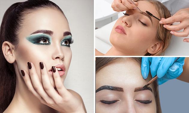 Henna brows + evt. epileren