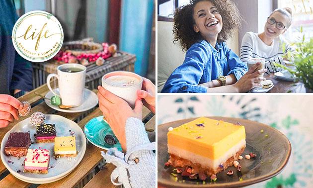 Gezond taartje + koffie/thee in hartje Leuven