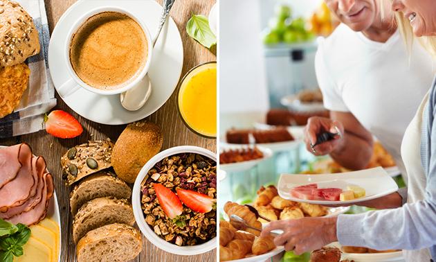 Luxe ontbijt + glaasje cava bij Lindehof