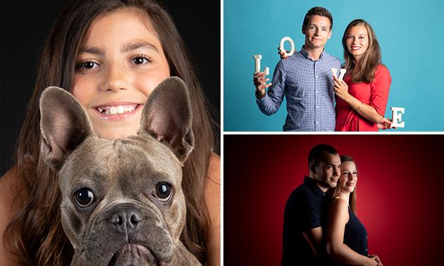 Fotoshoot voor 1 of 2 personen + afdruk (20x30 cm)